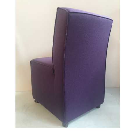 JD fauteuil paars